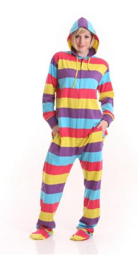 Funzee Adult Onesie Pjs Footed Pajamas Playsuit Jumpsuit