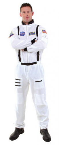 Underwraps Men's Astronaut onesie